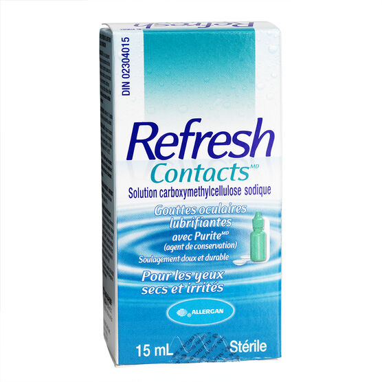 Refresh Contacts - 15ml
