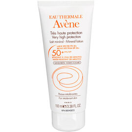 Avene Mineral Lotion for Intolerant Skin - SPF 50 - 100ml