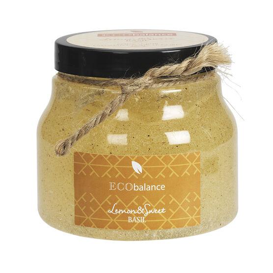 ECObalance Body Scrub - Lemon & Sweet Basil - 290ml