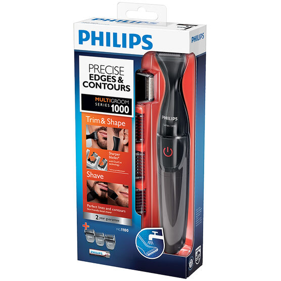 Philips Facial Styler - Black - MG1100/16
