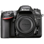 Nikon D7200 DX Body - Black - 33715 - Open Box/Display Model