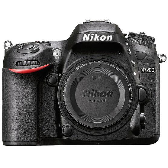 Nikon D7200 DX Body - Black - 33715