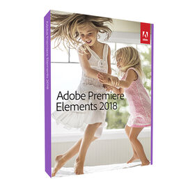 Adobe Premier Elements Version 2018