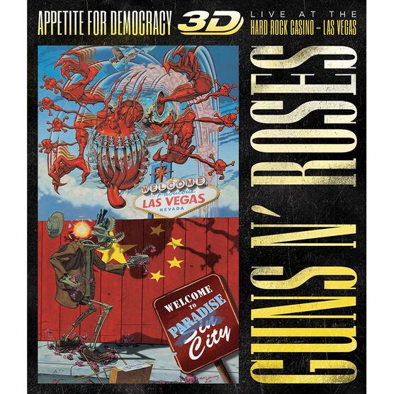 Guns n' Roses - Appetite For Democracy - Blu-ray