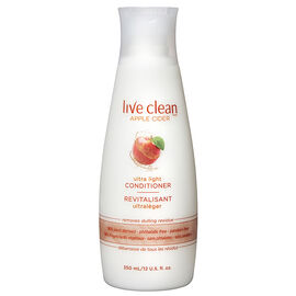 Live Clean Apple Cider Ultra Light Conditioner - 350ml