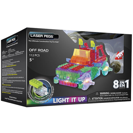 Laser Pegs 8 in 1 Off Road