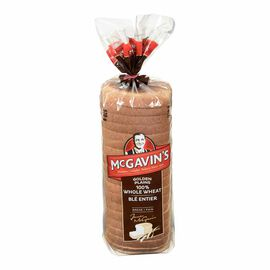 McGavin's 100% Whole WheatBread -570g