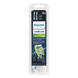 Philips Sonicare Premium Whiten Replacement Brush Head -White - HX9062/65