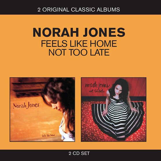 "Norah Jones - Classic Albums (""Feels Like Home"" and ""Not Too Late"") - CD"