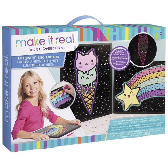 Make It Real Lite at Nite Neon Board
