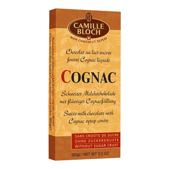 Camille Bloch Cognac Chocolate Bar - 100g