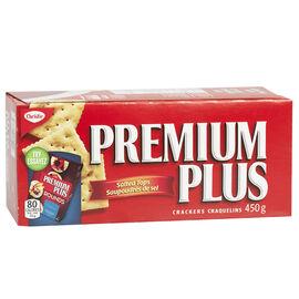 Christie Premium Plus Crackers - Salted Tops - 450g