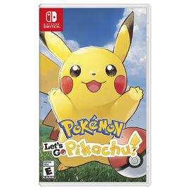 PRE ORDER: Nintendo Switch Pokemon Let's Go Pikachu