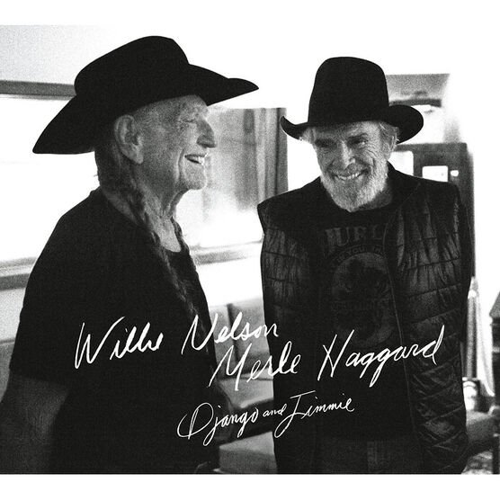 Willie Nelson and Merle Haggard - Django and Jimmie - CD
