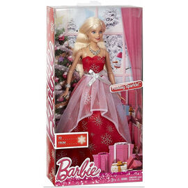 Barbie Holiday Sparkle Doll