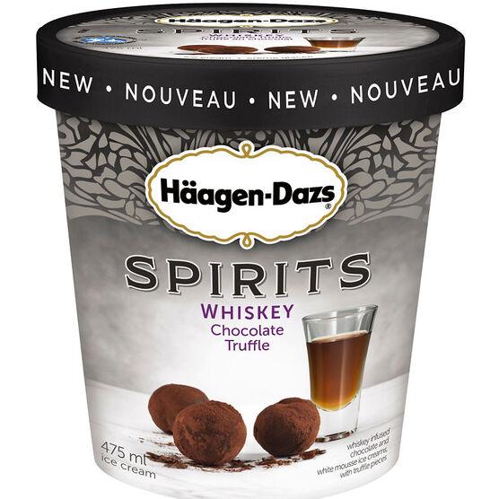 Haagen Dazs Spirits - Whiskey Chocolate Truffle - 475ml