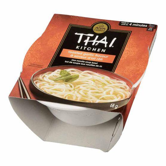 Thai Kitchen Roasted Garlic Rice Noodle Soup Bowl - 68g
