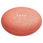 Google Home Mini Voice Assistant Speaker - Coral - GA00217-CA