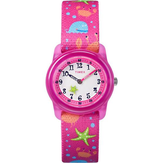Timex Kids Analogue Watch - Pink - TW7C136002Y