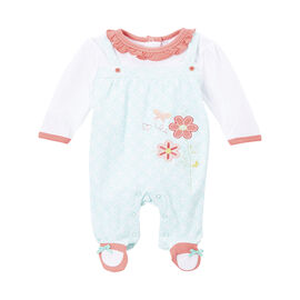 Baby Mode Flower Coverall - 7615 - Assorted