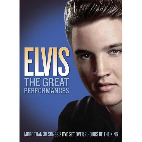 Elvis Presley: The Great Performances - DVD