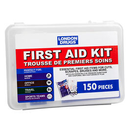 London Drugs First Aid Kit - 150 pieces