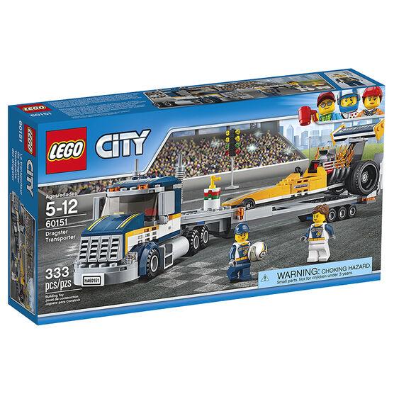 LEGO City - Dragster Transporter