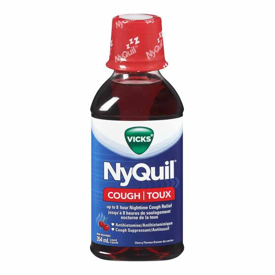 Vicks NyQuil Liquid for Cough - Cherry - 354ml