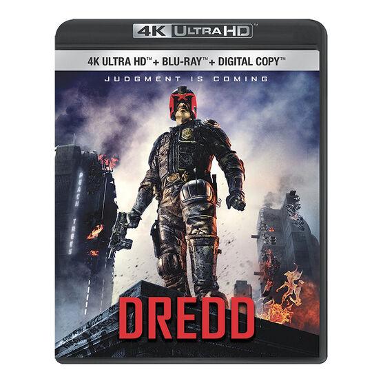 Dredd - 4K UHD Blu-ray