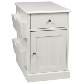 London Drugs Side Cabinet with Magazine Pockets