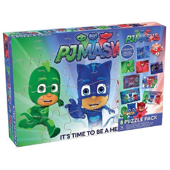 PJ Masks Puzzles - 8 pack