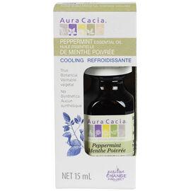 Aura Cacia Essential Oil - Peppermint - 15ml