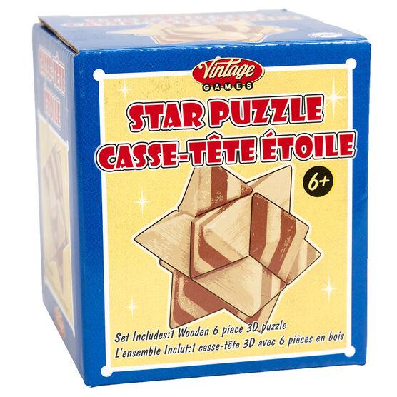 Vintage Games Star Puzzle