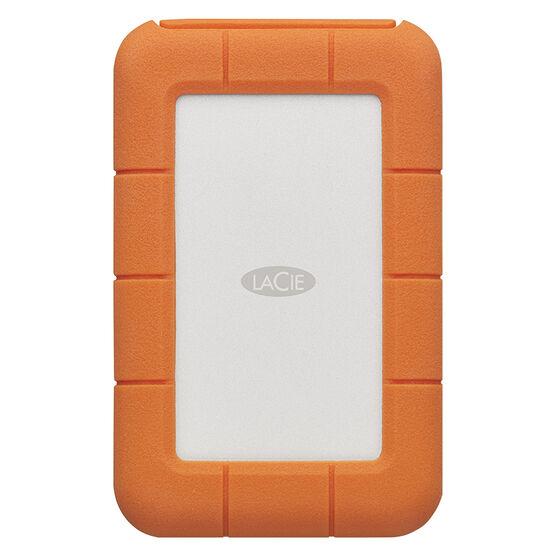 Lacie Rugged External Harddrive - 2TB - USB-C - Orange - STFR2000400