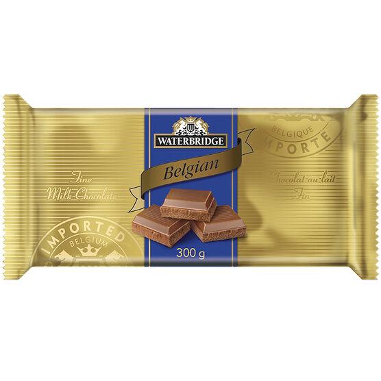 Waterbridge Chocolate Bar - Milk Chocolate - 300g