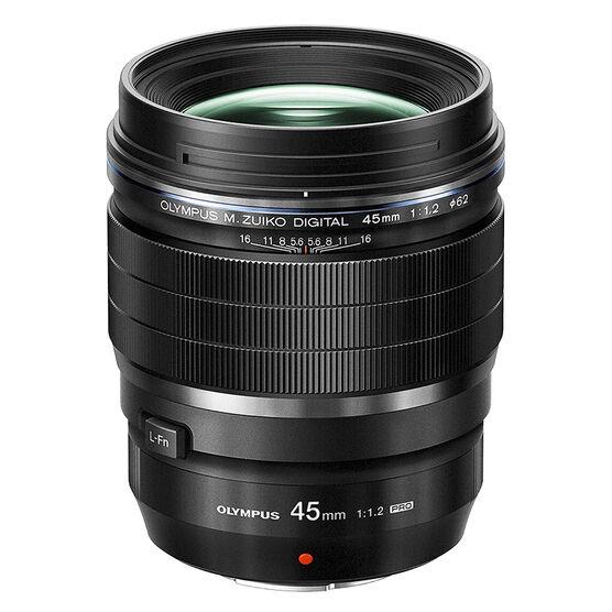 Olympus M.Zuiko ED 45mm F1.2 Pro Lens - Black - V311090BU000