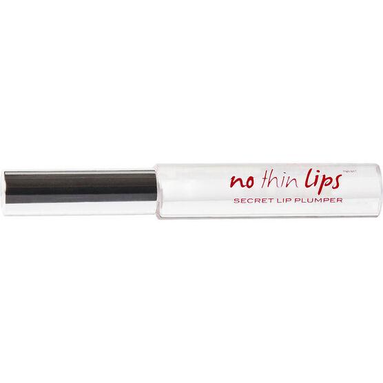 No Thin Lips Secret Lip Plumper - Clear