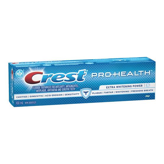 Crest PRO-Health Toothpaste - Extra Whitening Power - 100ml