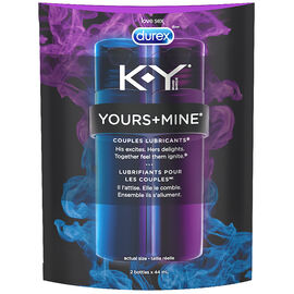 K-Y® Yours+Mine Couples Lubricants - 88ml