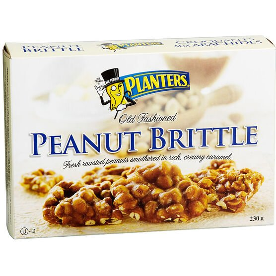 Planters Peanut Brittle - 230g