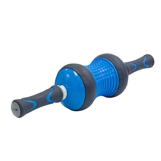 Zenzation Massager & Ab Wheel Exerciser - Blue