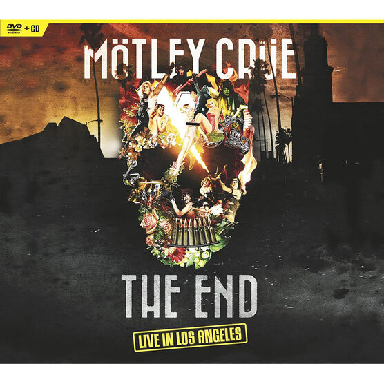 Motley Crue - The End: Live in Los Angeles - DVD + CD