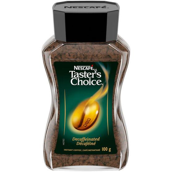 Tasters Choice Decaffeinate Coffee - 100g