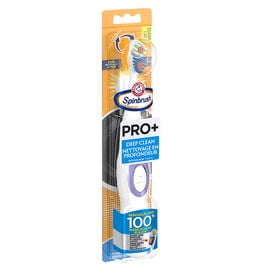Arm & Hammer Spinbrush Pro+ Battery Powered Toothbrush Assorted - Deep Clean - Soft