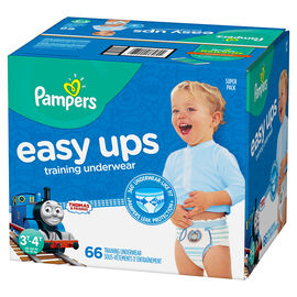 Pampers Easy Ups Training Underwear - 3T/4T - 66ct