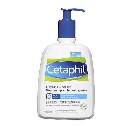 Cetaphil Oily Skin Cleanser - Sensitive Skin - 500ml