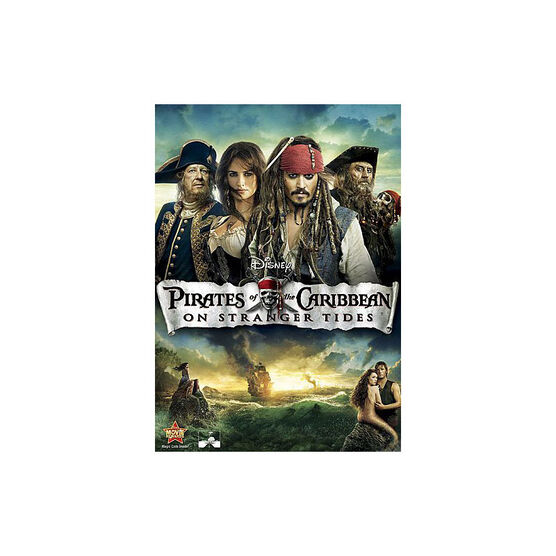 Pirates Of The Caribbean: On Stranger Tides - DVD