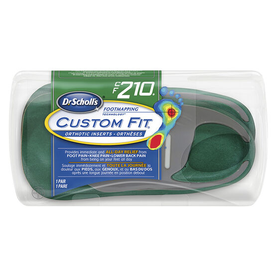 Dr. Scholl's Custom Fit Orthotic Insoles - CF210 - M6.5/W7.5