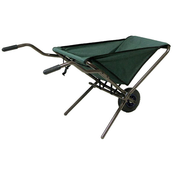 Folding Wheel Barrow - Green - 19634