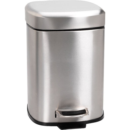 London Drugs Stainless Steel Satin Garbage Can - 6L